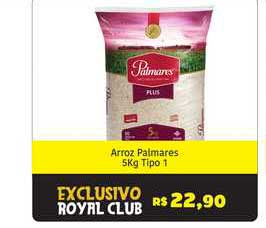 Royal Supermercados Arroz Palmares Tipo 1