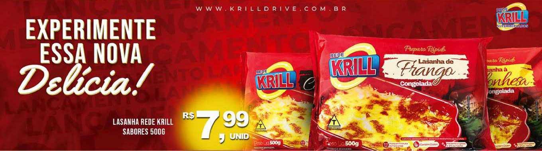 Rede Krill Lasanha Rede Krill