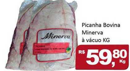 Rede Krill Picanha Bovina Minerva