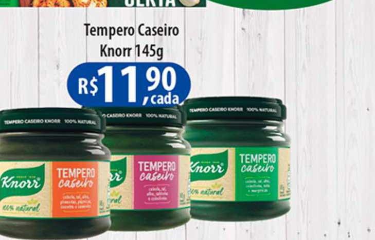 Shibata Supermercados Tempero Caseiro Knorr