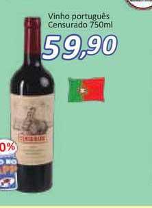 Supermercados Savegnago Vinho Português Censurado