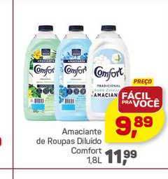 Supermercados São Vicente Amaciante De Roupas Diluido Comfort