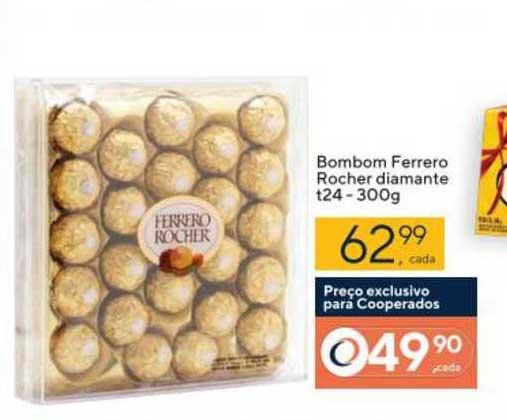 Coop Bombom Ferrero Rocher Diamante